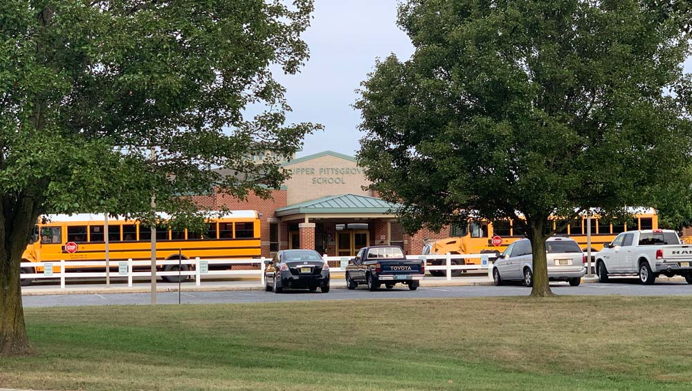 First Day of School at Upper Pittsgrove - upper pittsgrove school